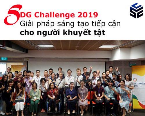 SDG Challenge 2019 – Giải pháp sáng tạo tiếp cận cho người khuyết tật