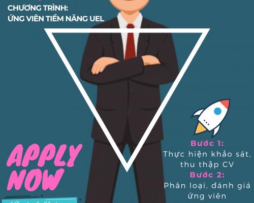 """Chương trình """"Tìm kiếm ứng viên tiềm năng UEL 2019"""""""
