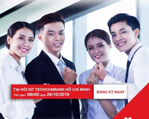 Thư mời Tham gia sự kiện tuyển dụng chương trình TECHCOMBANK'S FUTURE GENERATION 2019