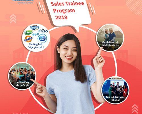 Chương trình Sales Trainee Program 2019 đã chính thức khởi động