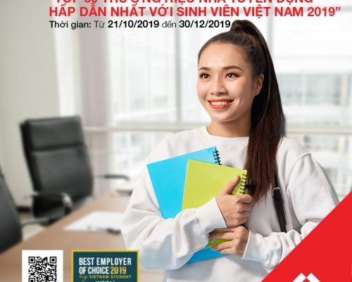 Tham gia Khảo sát Top 50 Thương hiệu tuyển dụng