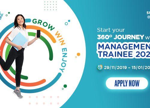 Management Trainee 2020 tại SUNTORY PEPSICO VIETNAM
