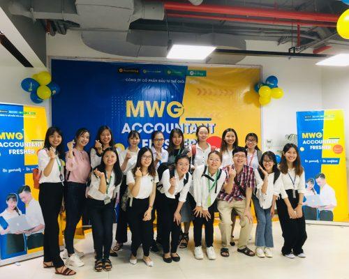 Tổng kết Company Tour 2019 – Tham quan Thế Giới Di Dộng cùng chương trình MWG Accountant Fresher