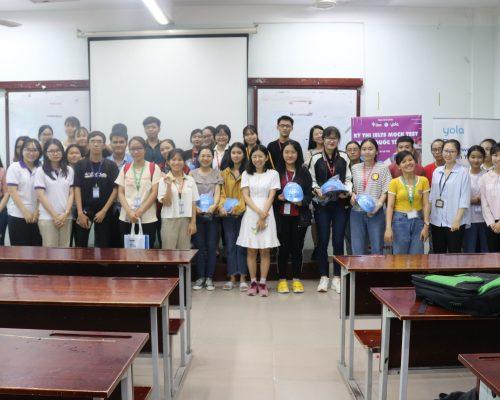 """Tổng kết chương trình thi thử """"IELTS MOCK TEST CHUẨN QUỐC TẾ"""" lần đầu tiên tổ chức tại UEL"""