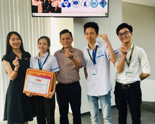 Chúc mừng sinh viên UEL nhận học bổng Acecook 2019.