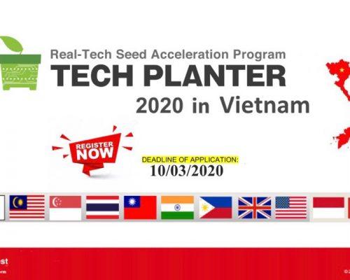 """Thông báo cuộc thi """"Tech Planter 2020"""""""