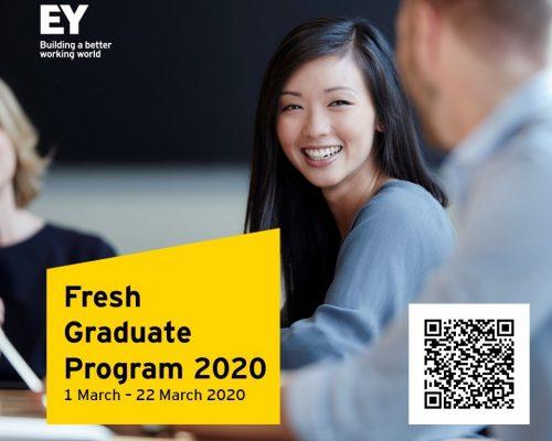 EY Vietnam – Fresh Graduate Recruitment Program 2020