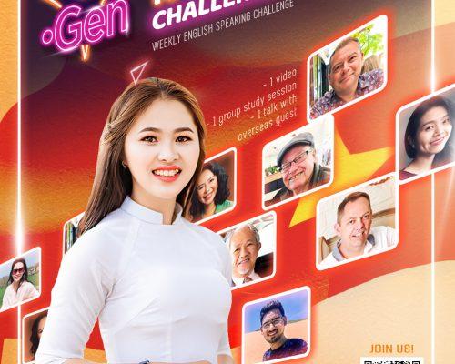 """[iGen] Tham gia thử thách """"100 CHALLENGES"""" – Một hoạt động của """"LET'S SPEAK ENGLISH"""""""
