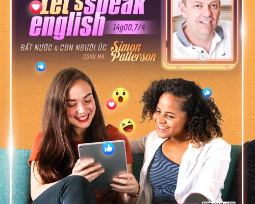 """Tham gia chương trình """"Let's Speak English"""" – Luyện nói tiếng Anh với người nước ngoài"""