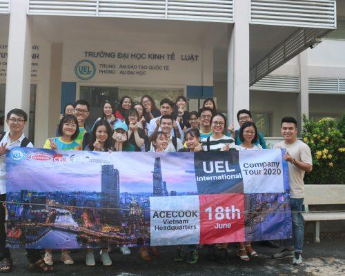 [Company Tour 2020] Sinh viên liên kết quốc tế Gloucestershire Anh Quốc của UEL tham quan Nhà máy Acecook Việt Nam