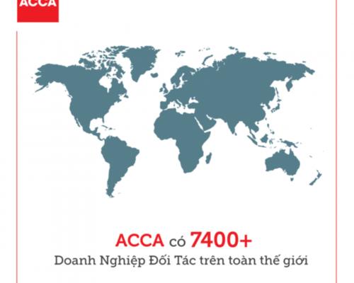 Các vị trí tuyển dụng từ đối tác ACCA