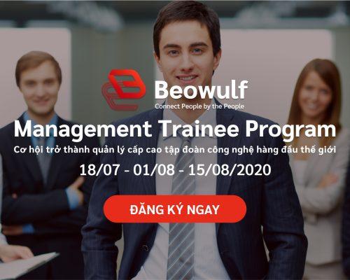 Beowulf Management Trainee Program 2020 chính thức khởi động, bạn đã sẵn sàng?
