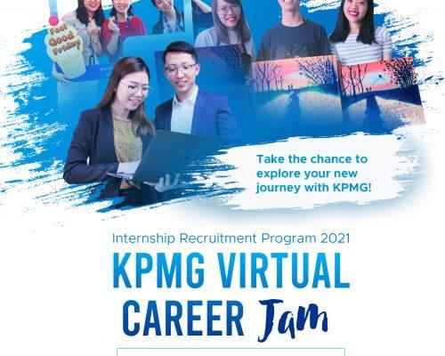 [Internship Recruitment Program 2021] Chương trình KPMG Virtual Career Jam – Cơ hội giao lưu trực tuyến cùng KPMG