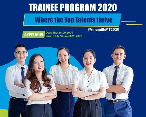 Chương trình Quản trị viên tập sự – Vinamilk Management Trainee Program 2020