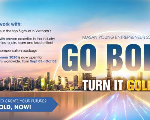 Chương trình Masan Young Entrepreneur 2020 (MYE 2020) chính thức bắt đầu!