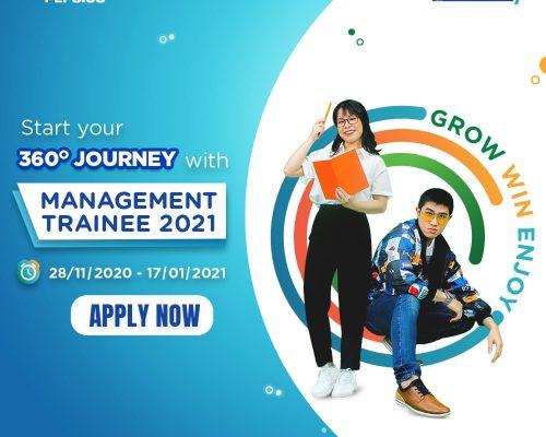 Suntory Pepsico Vietnam Management Trainee 2021