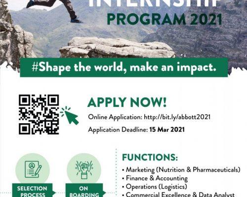 Abbott Internship Program 2021