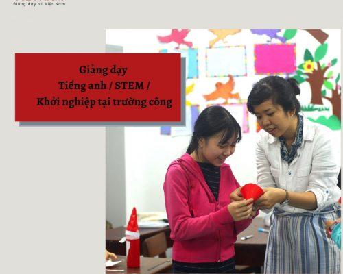 [Teach For Vietnam] Chương trình Phát triển Năng lực lãnh đạo 2021 – 2023