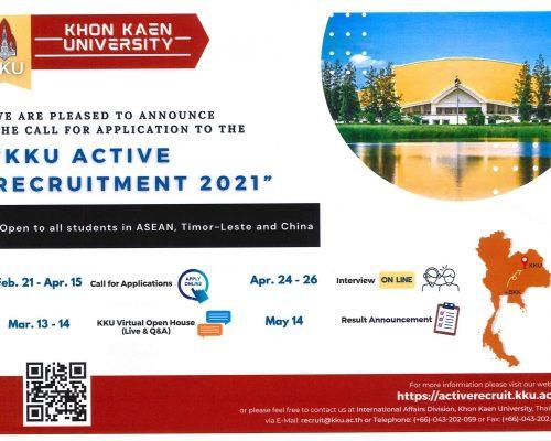 Chương trình Active Recruitment Program 2021