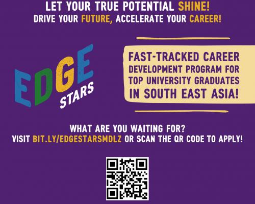 Chương trình Quản trị viên tập sự – EDGE Stars – Management Trainee của MONDELEZ INTERNATIONAL