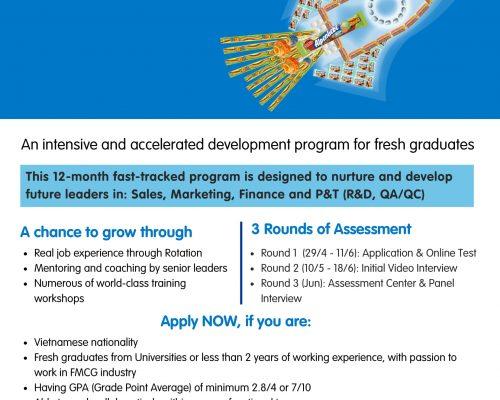 Chương trình Management Trainee & Operations Fresh 2021