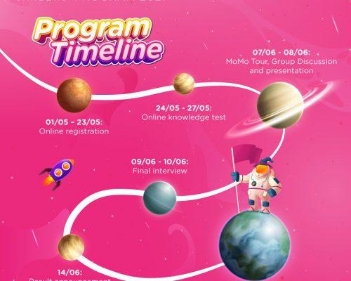Chương trình MoMo Talents 2021 gia hạn thời gian ứng tuyển đến hết ngày 23/05/2021