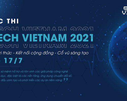 """Cuộc thi """"Tìm kiếm Ngôi sao Khởi nghiệp Sáng tạo – EDTECH VIETNAM 2021"""""""