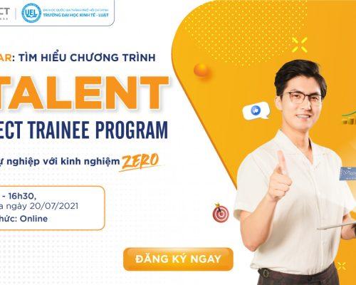 Chương trình Webinar Online: DTALENT – VNDIRECT TRAINEES PROGRAM