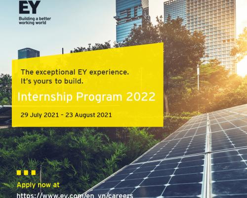 EY Vietnam | Internship Recruitment Program 2022