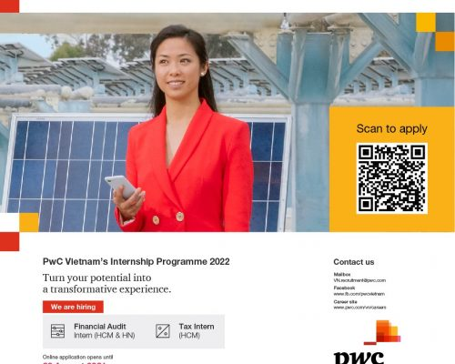 PwC Internship Programme 2022
