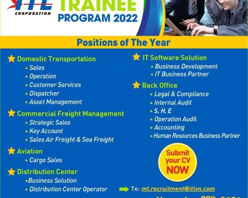 ITL Corp – Management Trainee Program 2022